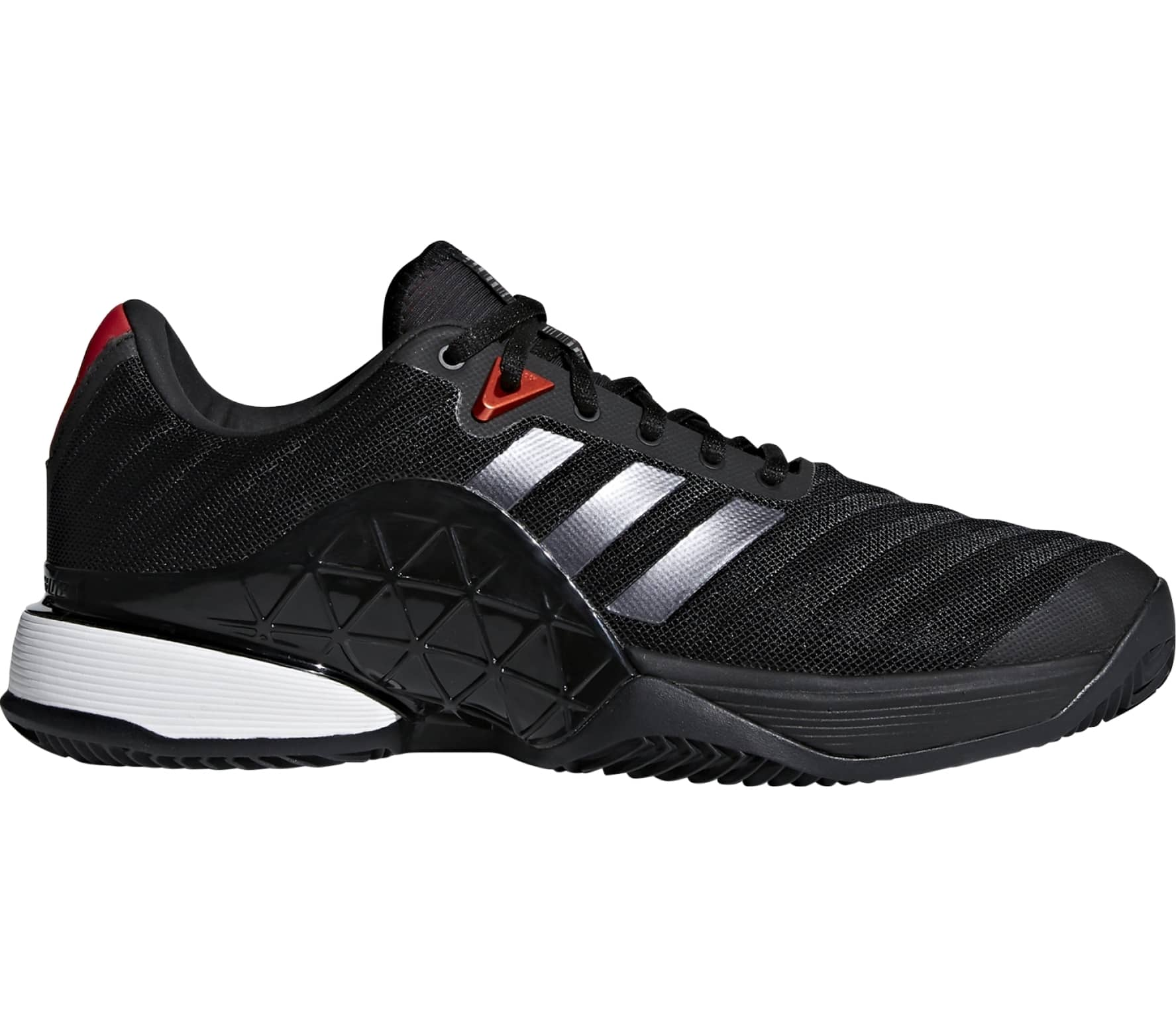 new concept 35d52 9b4e1 Adidas - Barricade 2018 clay men s tennis shoes (black)