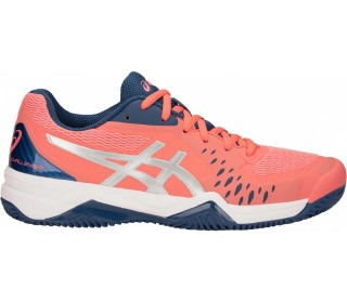 10dfed8f00b75 ASICS - GEL-Challenger 12 Clay women s tennis shoes (orange)