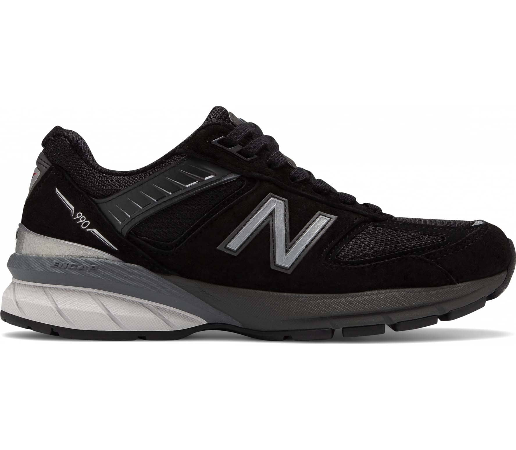 New Balance 990v5 Dames Sneakers zwart