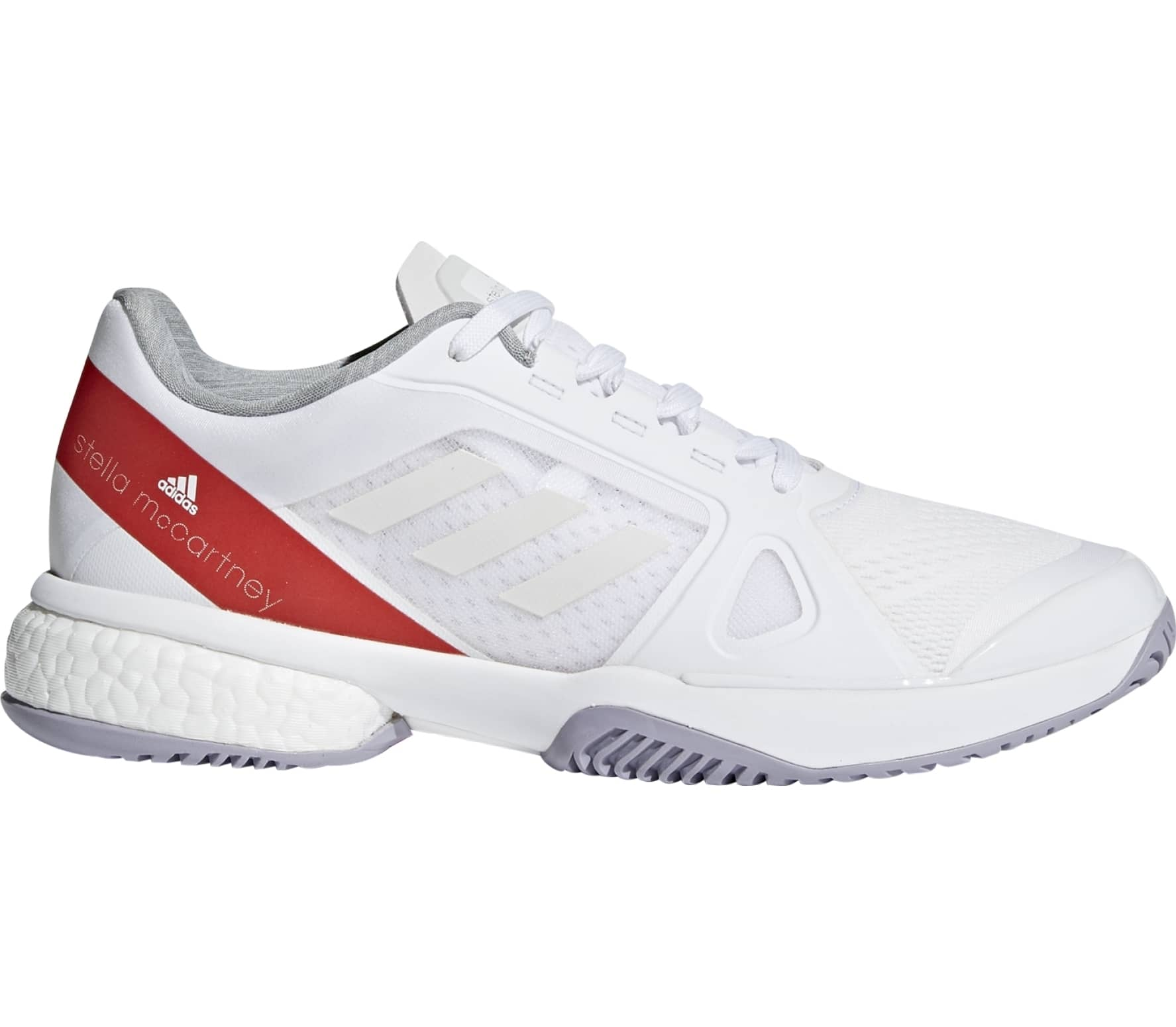 Adidas aSMC Barricade Boost Women's Shoes White