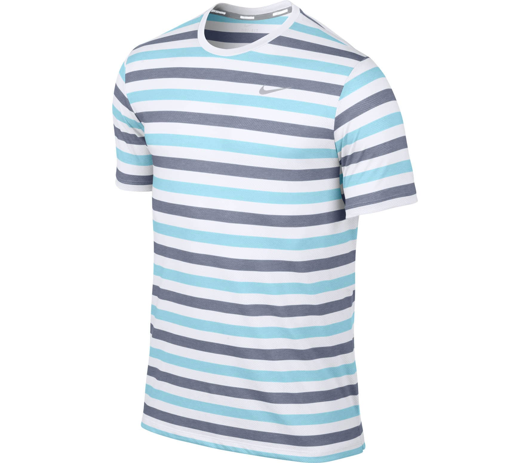 Men's Clothing Activewear Tops Nike Mens Stripped Sports Top