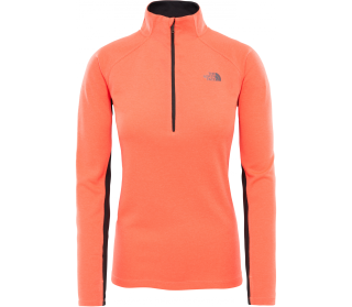 The North Face Ambition 1/4 Zip Damen Longsleeve