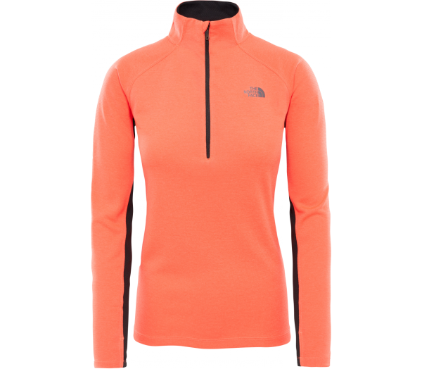 THE NORTH FACE Ambition 1/4 Zip Damen Longsleeve - 1