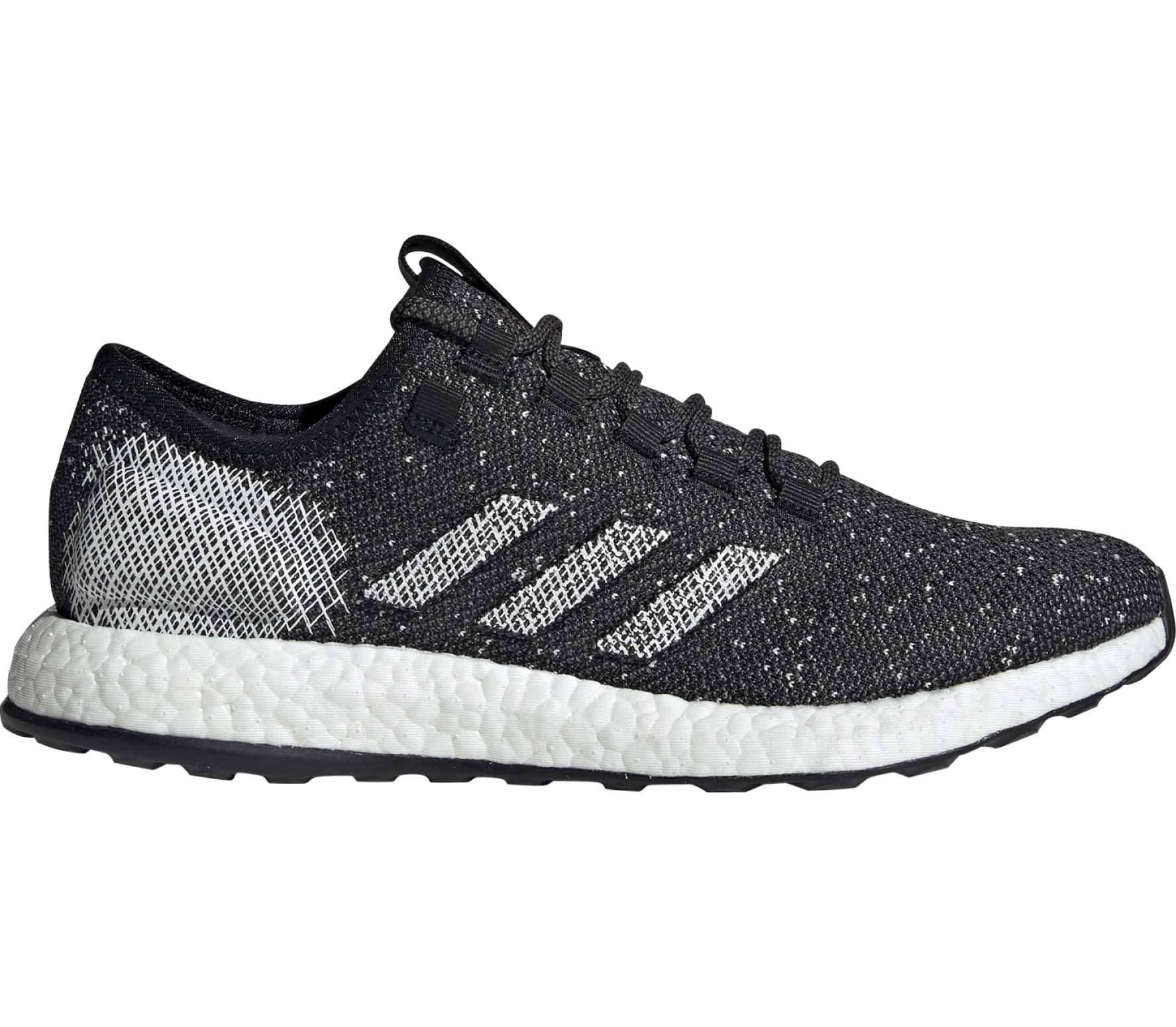 half off 47a32 f55f5 adidas Performance - Pure Boost mens running shoes (black) - buy it at the  Keller Sports online shop