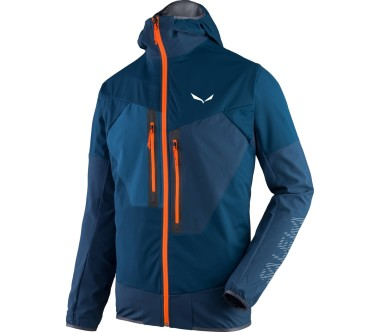 Salewa - Pedroc 2 Stormwall/Dura Stretch Herren Funktionsjacke (dunkelblau/orange)