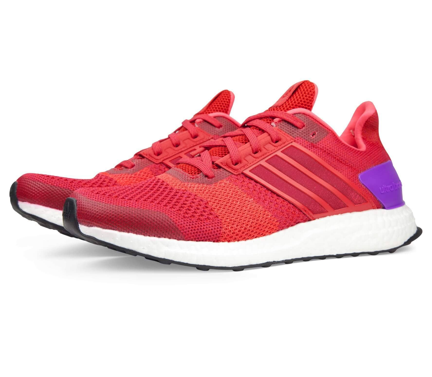 Adidas - Ultra Boost ST women's running shoes (red/lilac