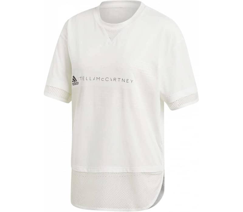 Logo Mesh Damen T-Shirt