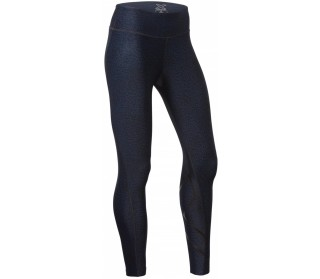 Print Mid-Rise Compression Tights with Storage Women