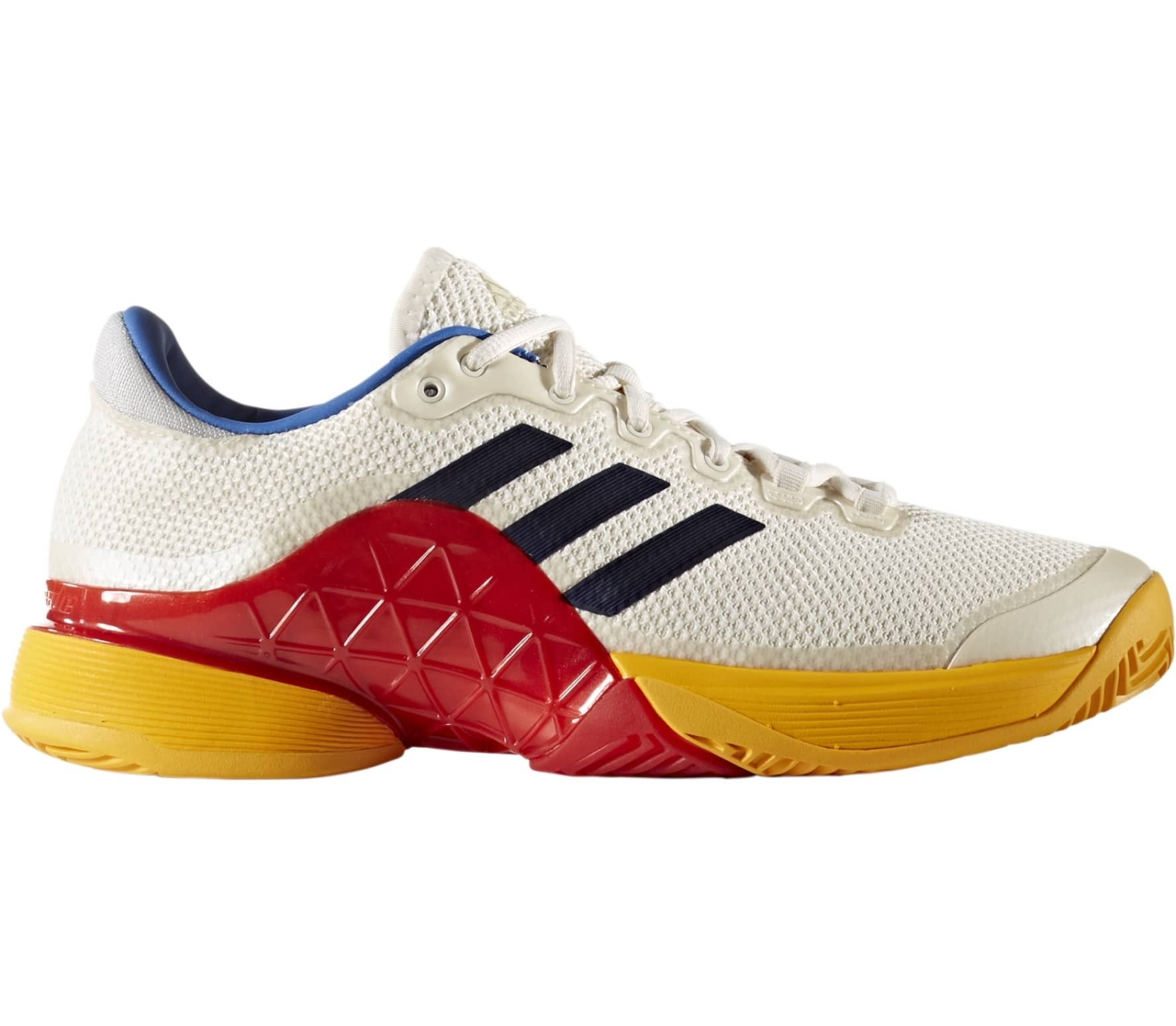 buy popular 2c3cb 09a86 Adidas - Barricade 2017 Pharrell Williams Heren Tennis schoen (witblauw)