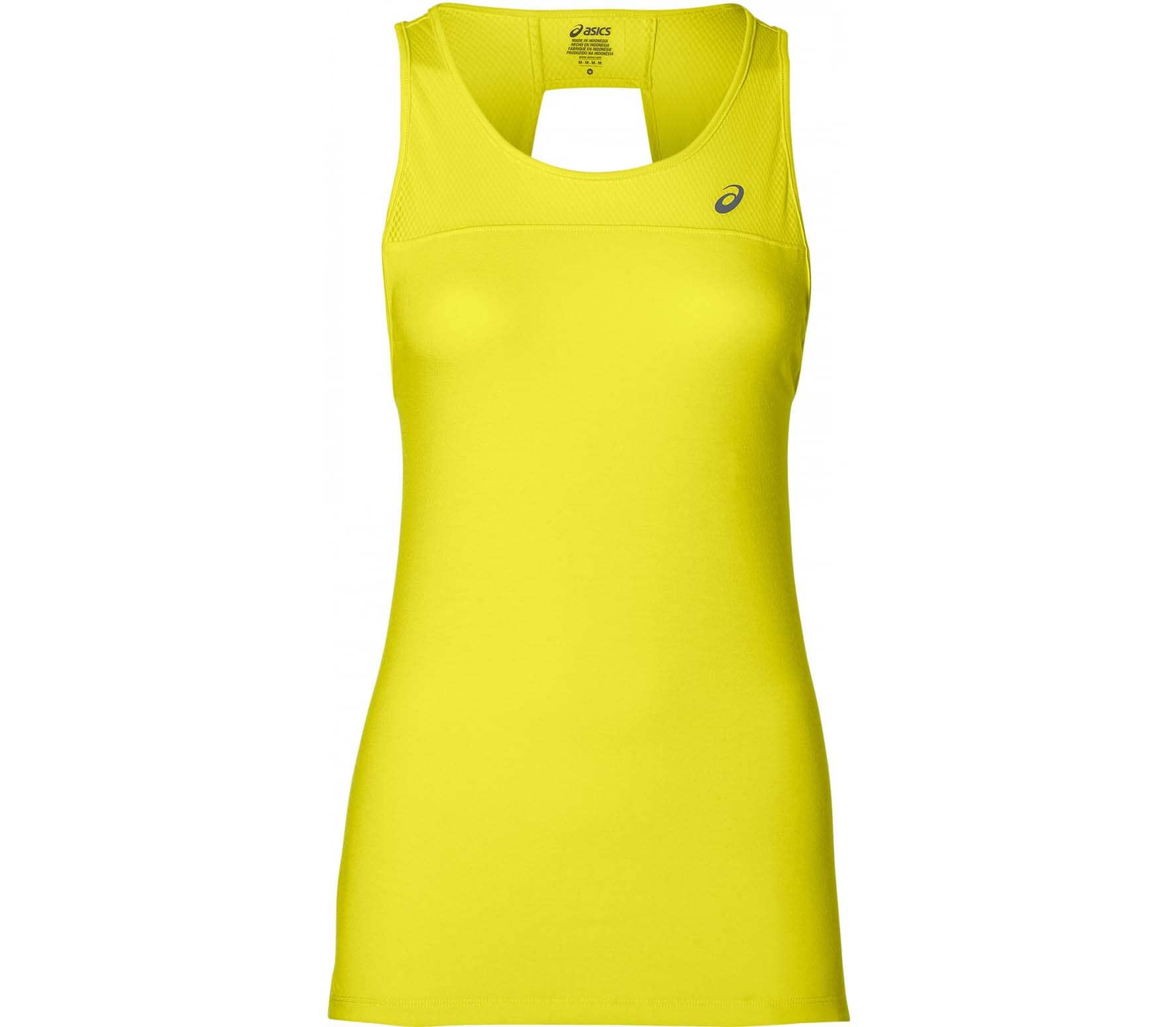 385b3a4668bd ASICS - Loose Strappy women s running tank top top (yellow) - buy it ...