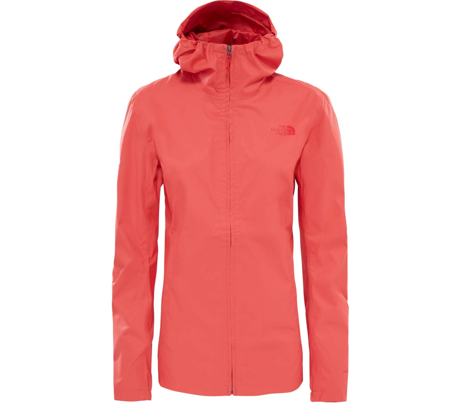 the north face tanken damen regenjacke hellrot im online shop von keller sports kaufen. Black Bedroom Furniture Sets. Home Design Ideas