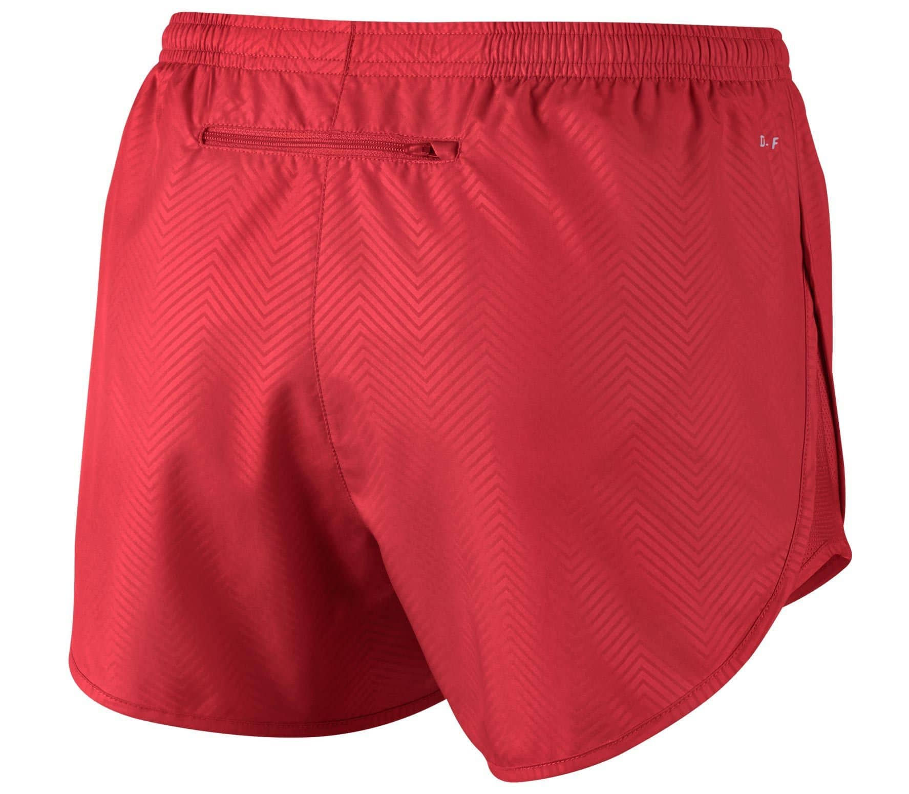 f3b25bc6291 Nike - Modern Embossed Tempo women's running shorts (red)