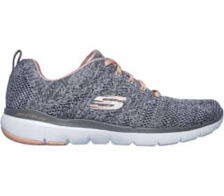 Skechers FLEX APPEAL 3.0 HIGH TIDES Femmes Chaussures training gris