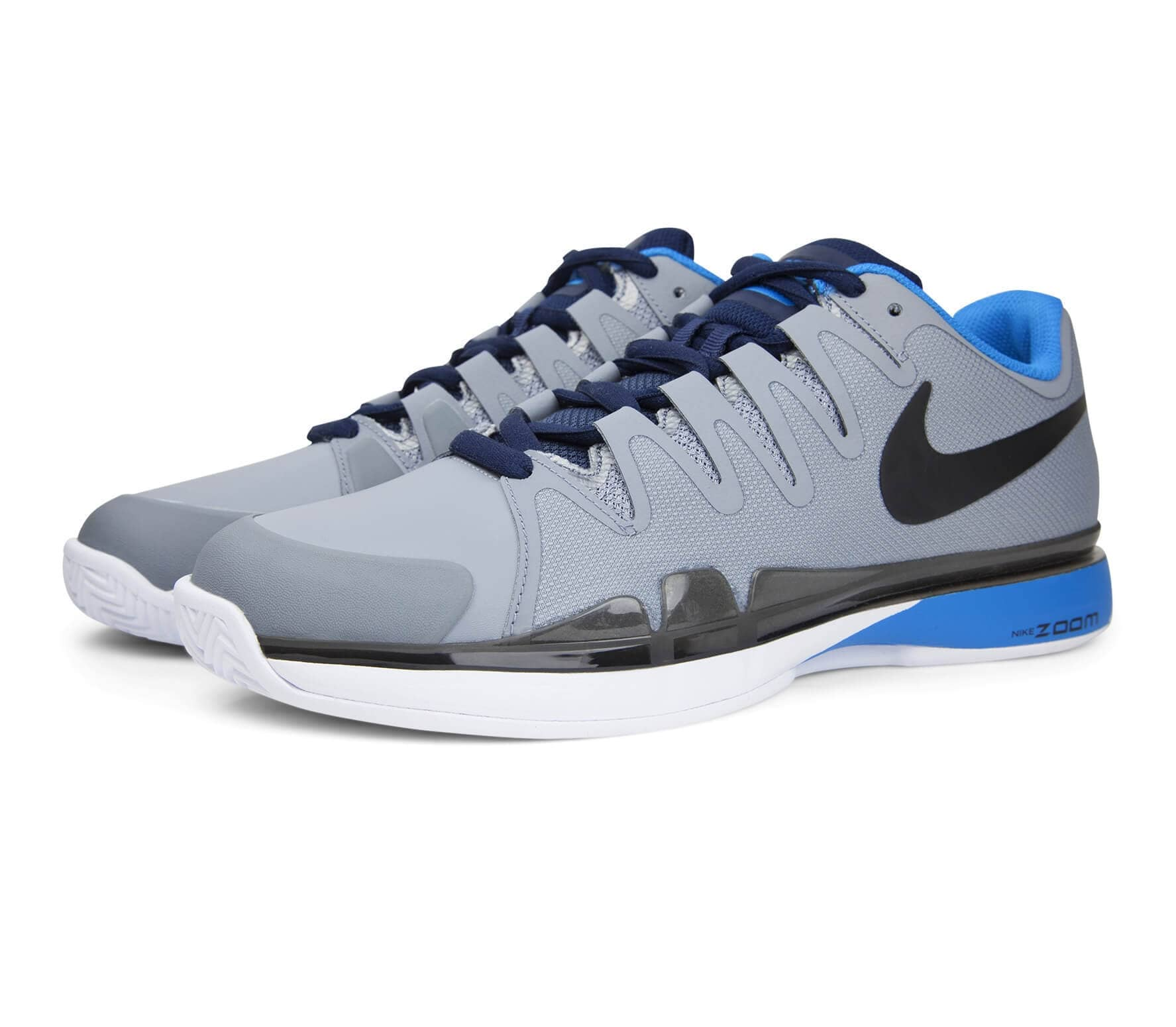 01bab1fad2d Nike - Air Zoom Vapor 9.5 Tour Clay Heren Tennis schoen (grijs/blauw ...