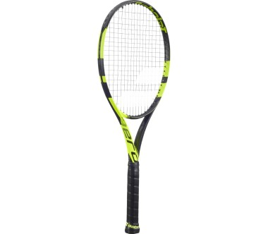 Babolat - Pure Aero unstrung tennis racket (black/yellow)