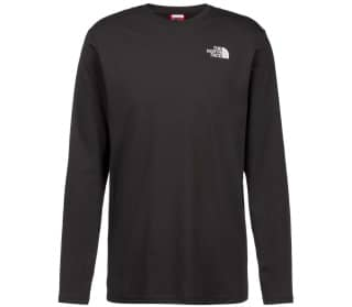 The North Face Red Box Hommes T-shirt à manches longues