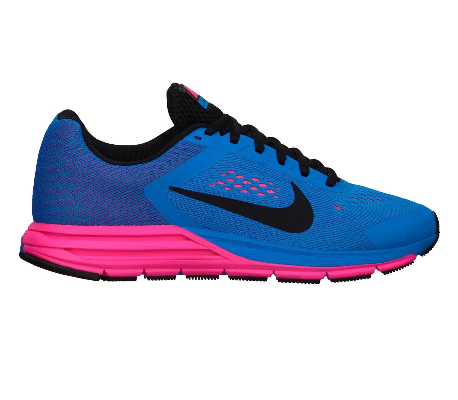 info for 54192 0a315 Nike - Zoom Structure+ 17 women s running shoes (blue pink)