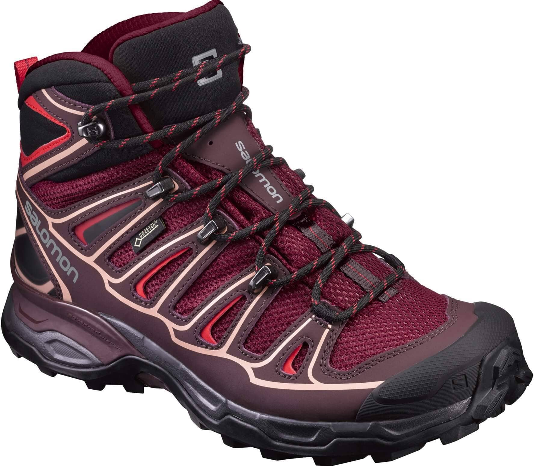 new product b56dd 9e102 Salomon X Ultra Mid 2 GTX® Women red