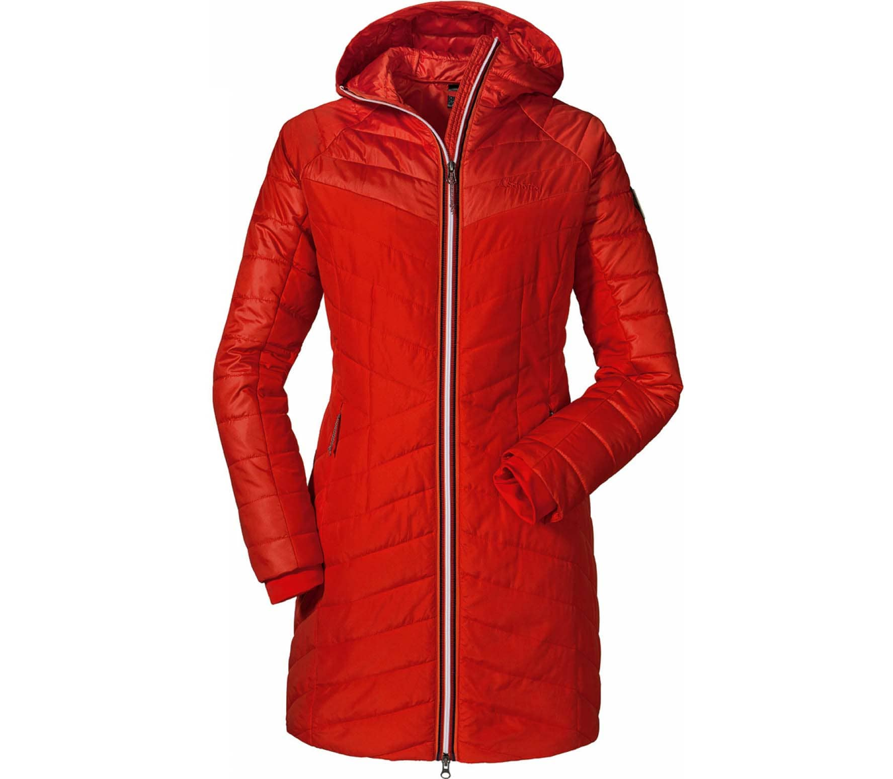 pretty nice 2dd48 d3390 Schöffel Thermo Coat Orleans Donna Giacca rosso