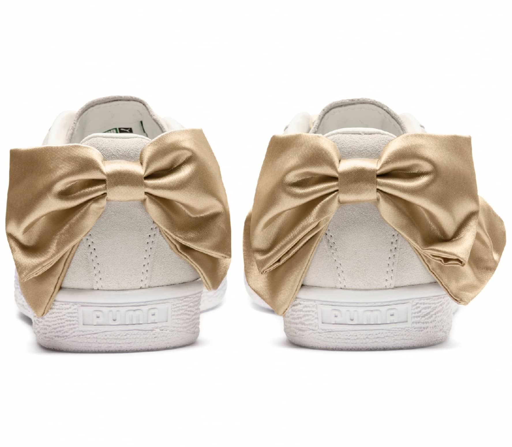 Suede Bow Varsity Women Sneakers