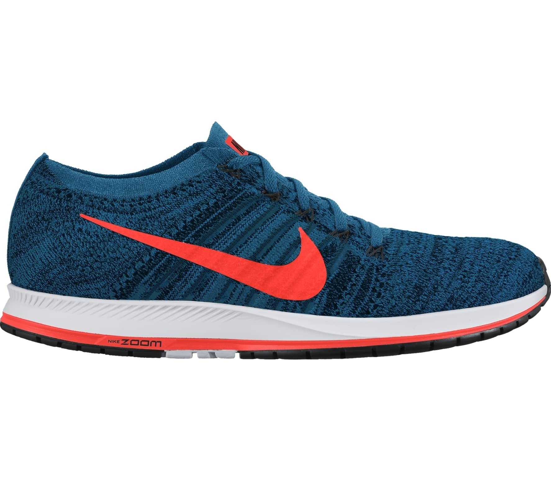 787fb30fd8d Nike - Zoom Flyknit Streak 6 Racing men s running shoes (blue orange ...