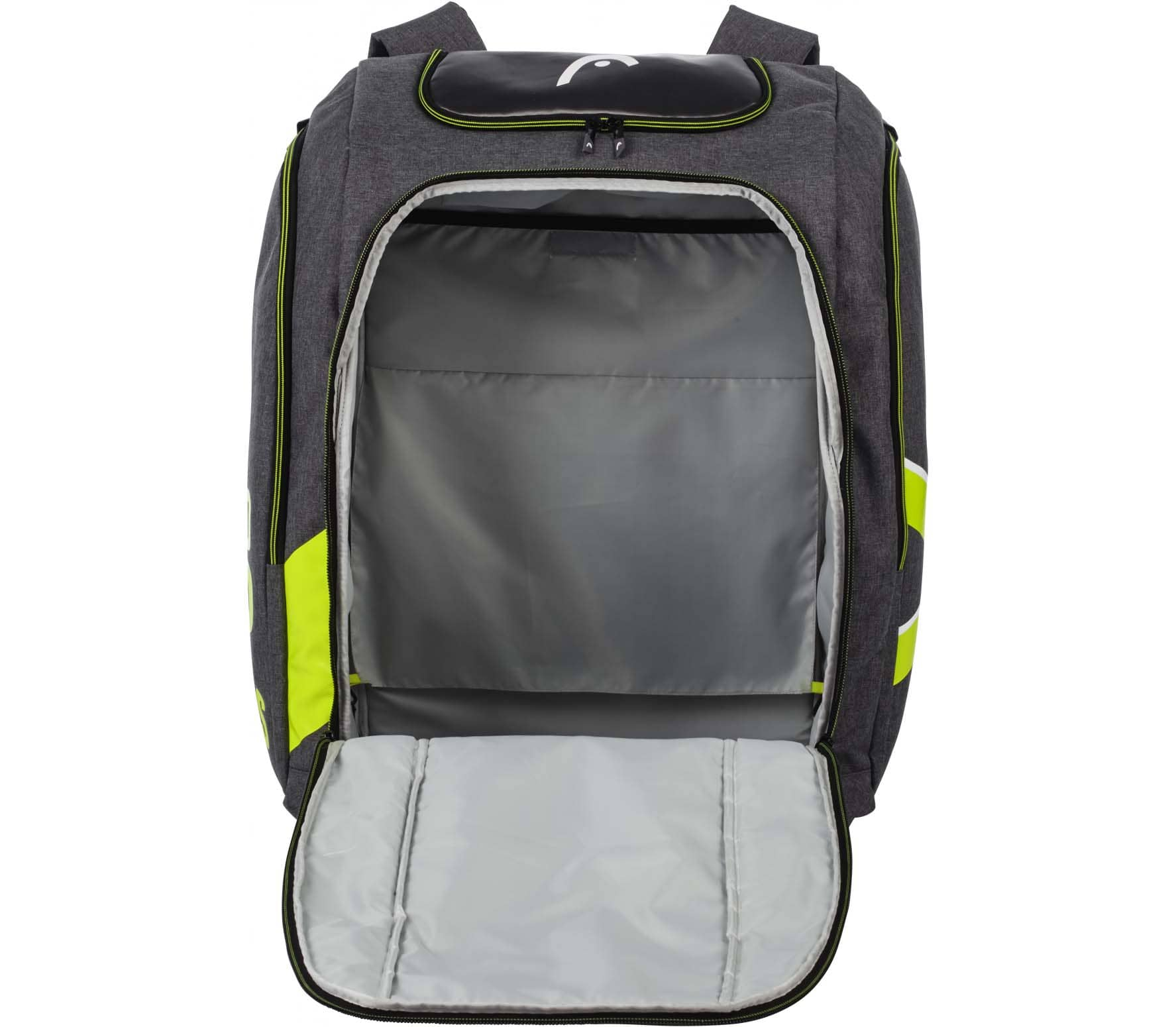 Head - Rebels Racing backpack L skis boot bag (grey)