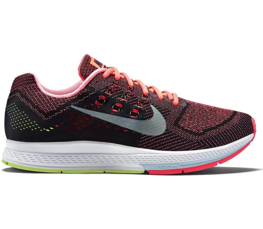outlet store 5622a d2771 Nike - Air Zoom Structure 18 Hombre Zapatos para correr (rojo/negro ...