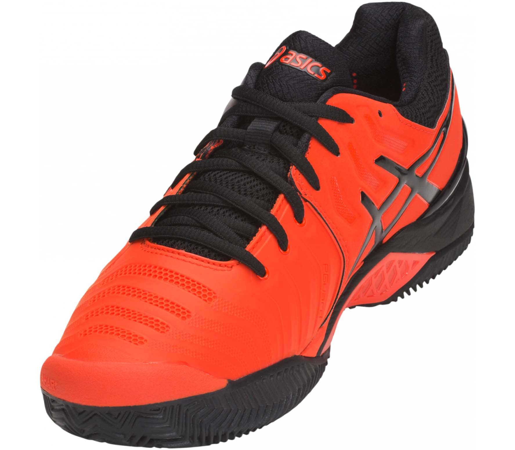 f9f23a7091 ASICS - GEL-Resolution 7 Clay men's tennis shoes (red/black) - buy ...