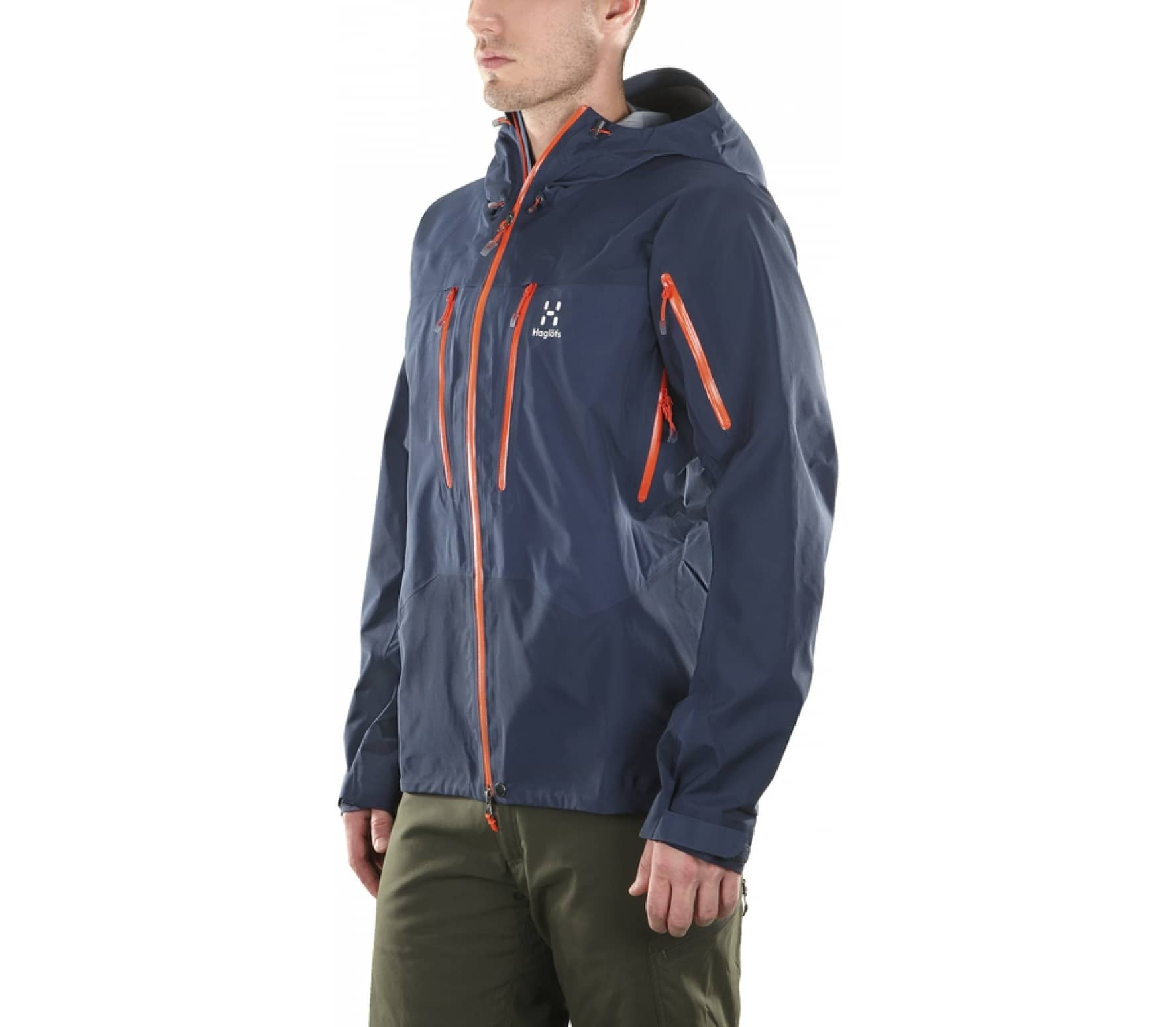 brand new dd434 37c0c Haglöfs - Spitz men s Gore Tex Outdoor jacket (dark blue)