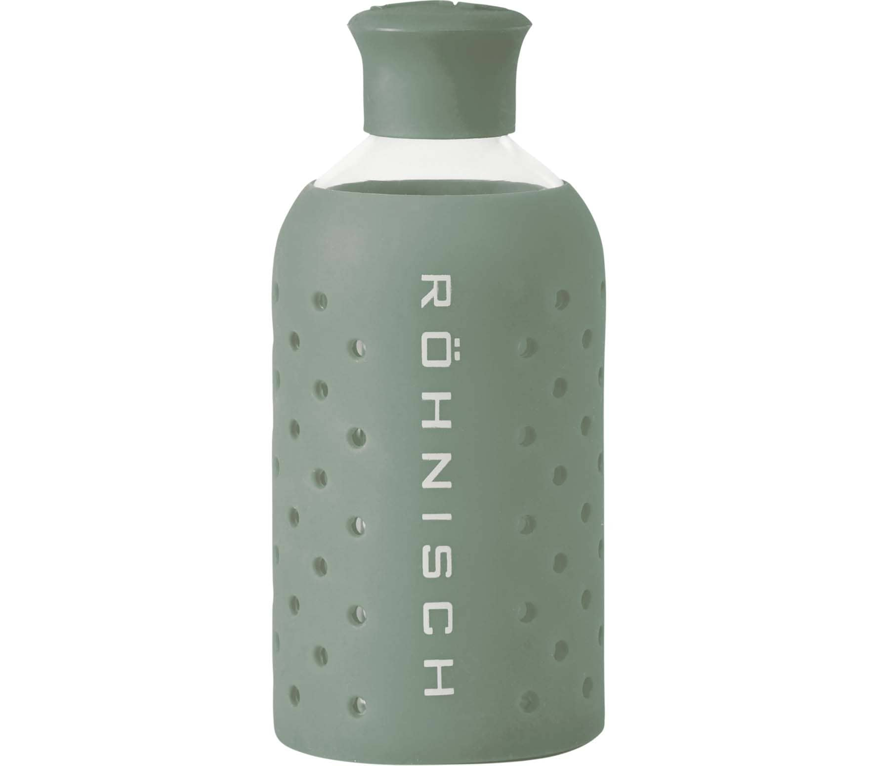 Röhnisch - Small Glass Bottle Trinkflasche (grün)