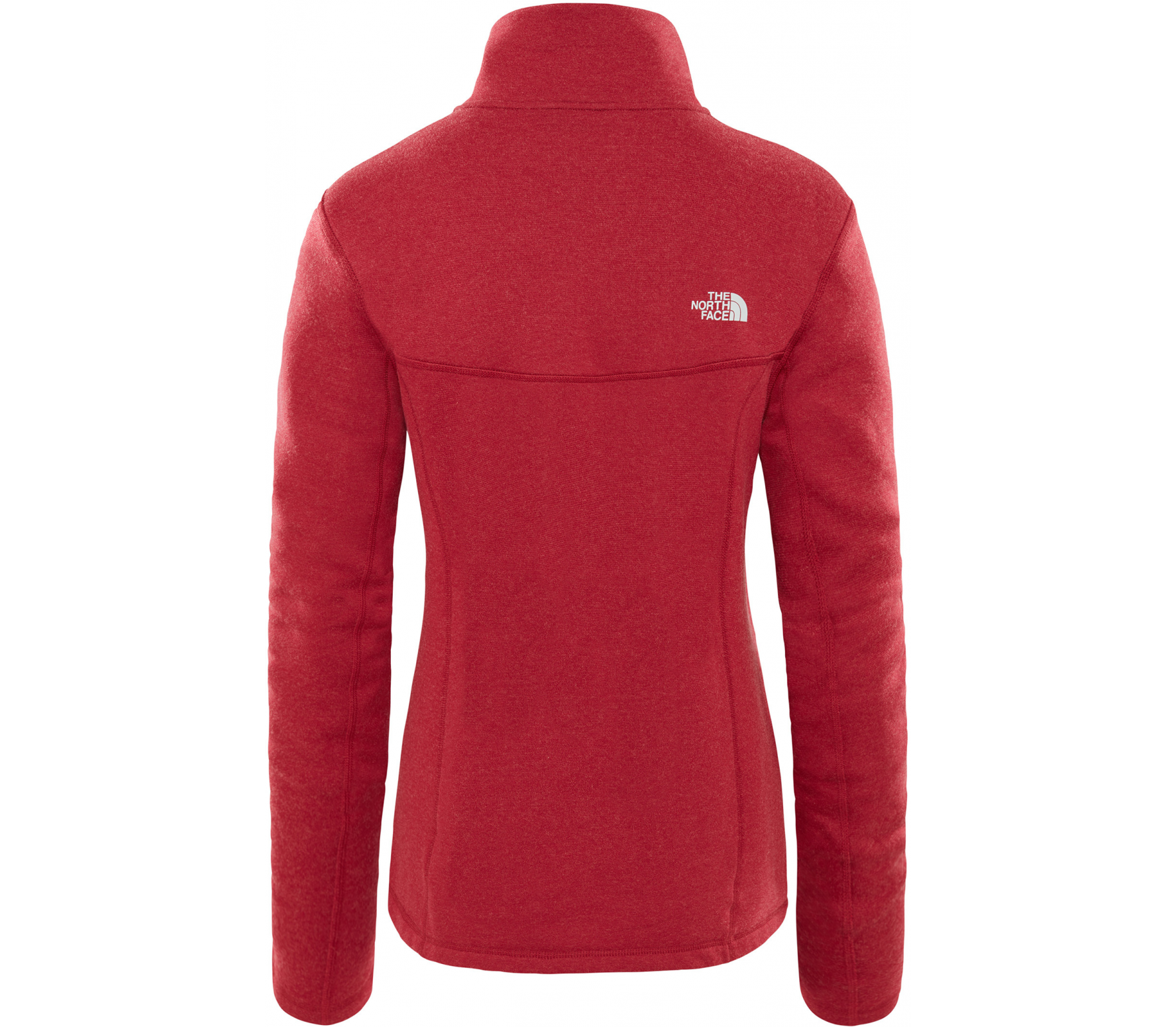 22f6811f05b The North Face - Inlux Wool Full-Zip Dames jas (rood) online kopen ...