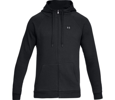 Under Armour - Rival fleece men's training jacket (black)