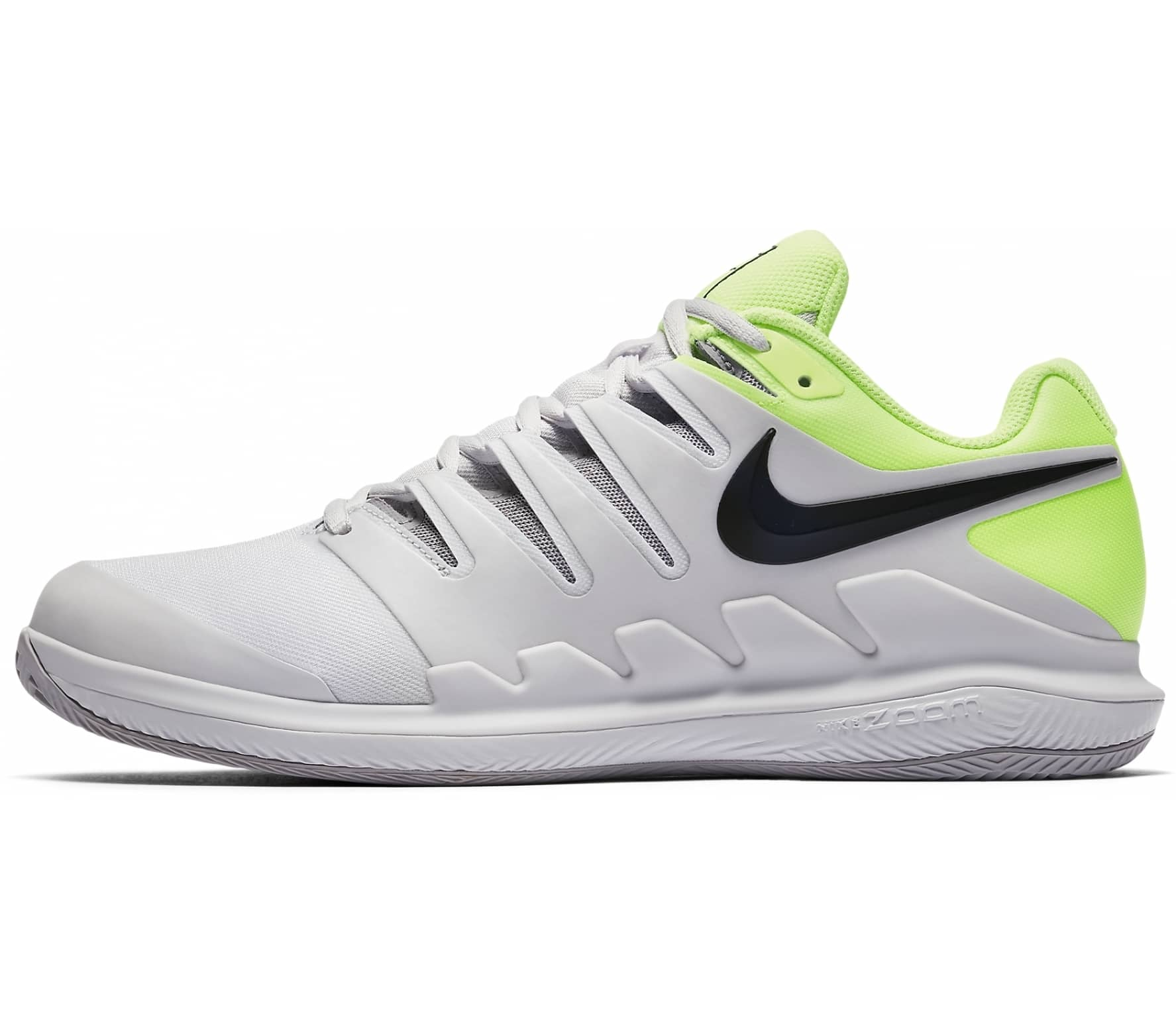 on sale fa32c a3ded Nike - Air Zoom Vapor X Clay men s tennis shoes (grey yellow)