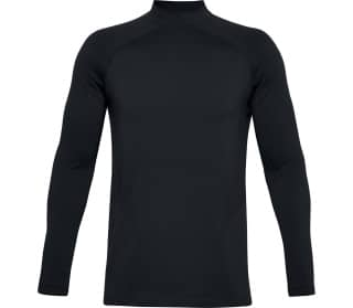 Under Armour Rush ColdGear® Seamless Mock Hommes T-shirt à manches longues
