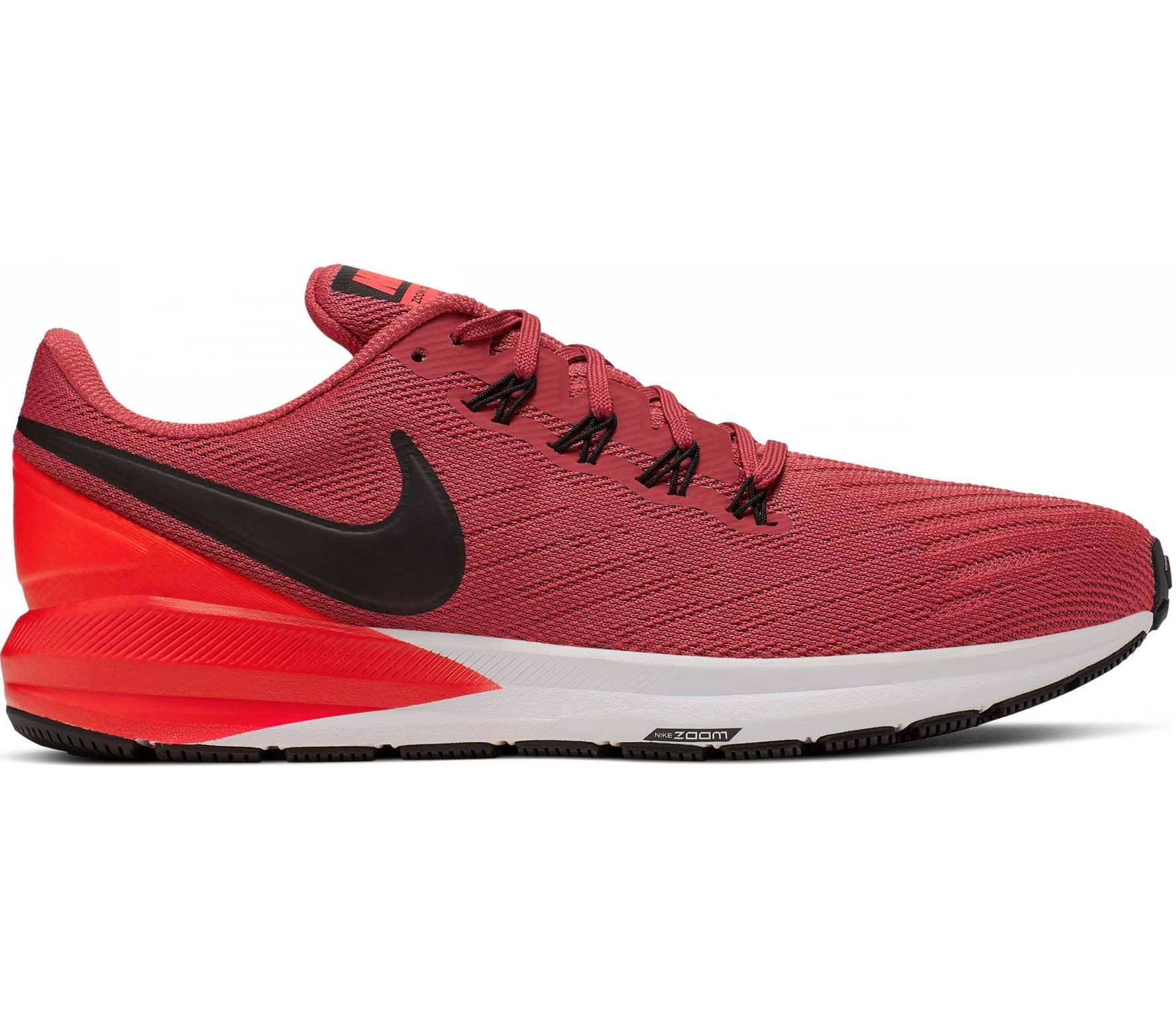 sale retailer c3304 787e1 Nike Air Zoom Structure 22 Men Running Shoes red