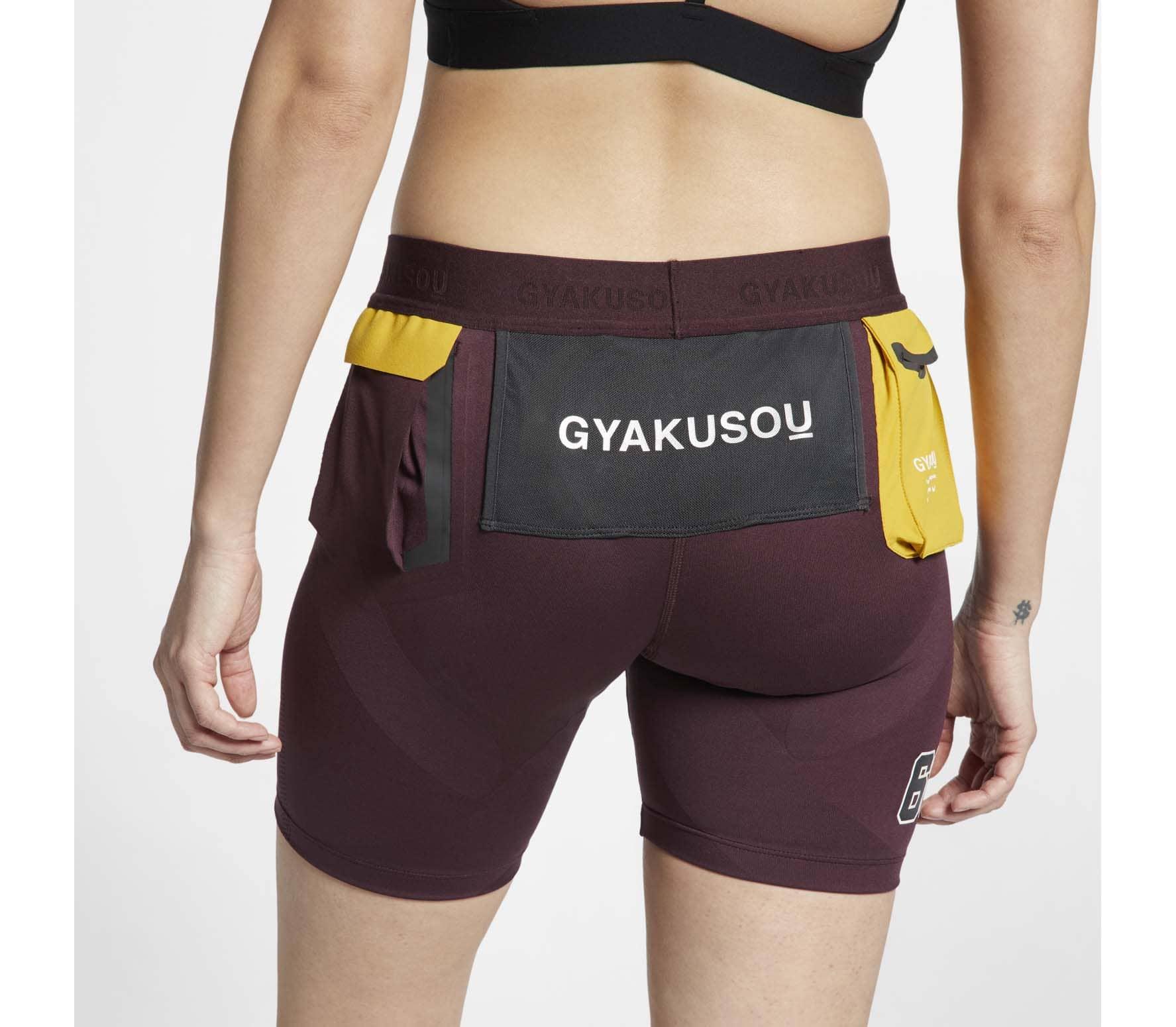 Nike - NRG Gyakusou Helix Femmes course courte (rouge)