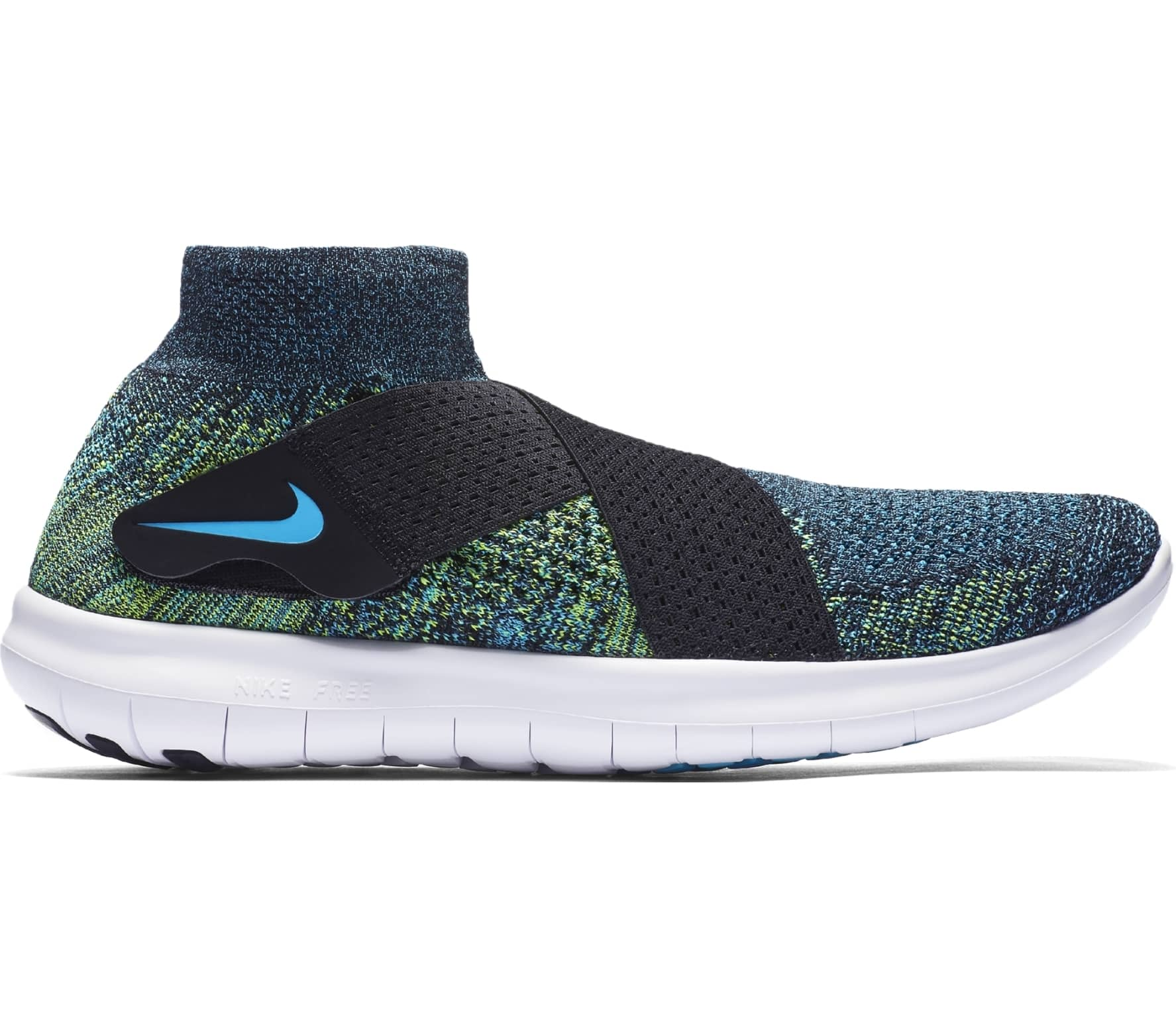 competitive price 8b908 c4c1b Nike - Free RN Motion Flyknit 2 men s running shoes (blue black)