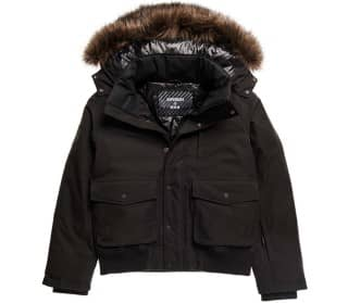 SUPERDRY SPORT® Everest Down Snow Bomber Herren Skijacke