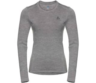 ODLO Crew Neck NATURAL Women Functional Top