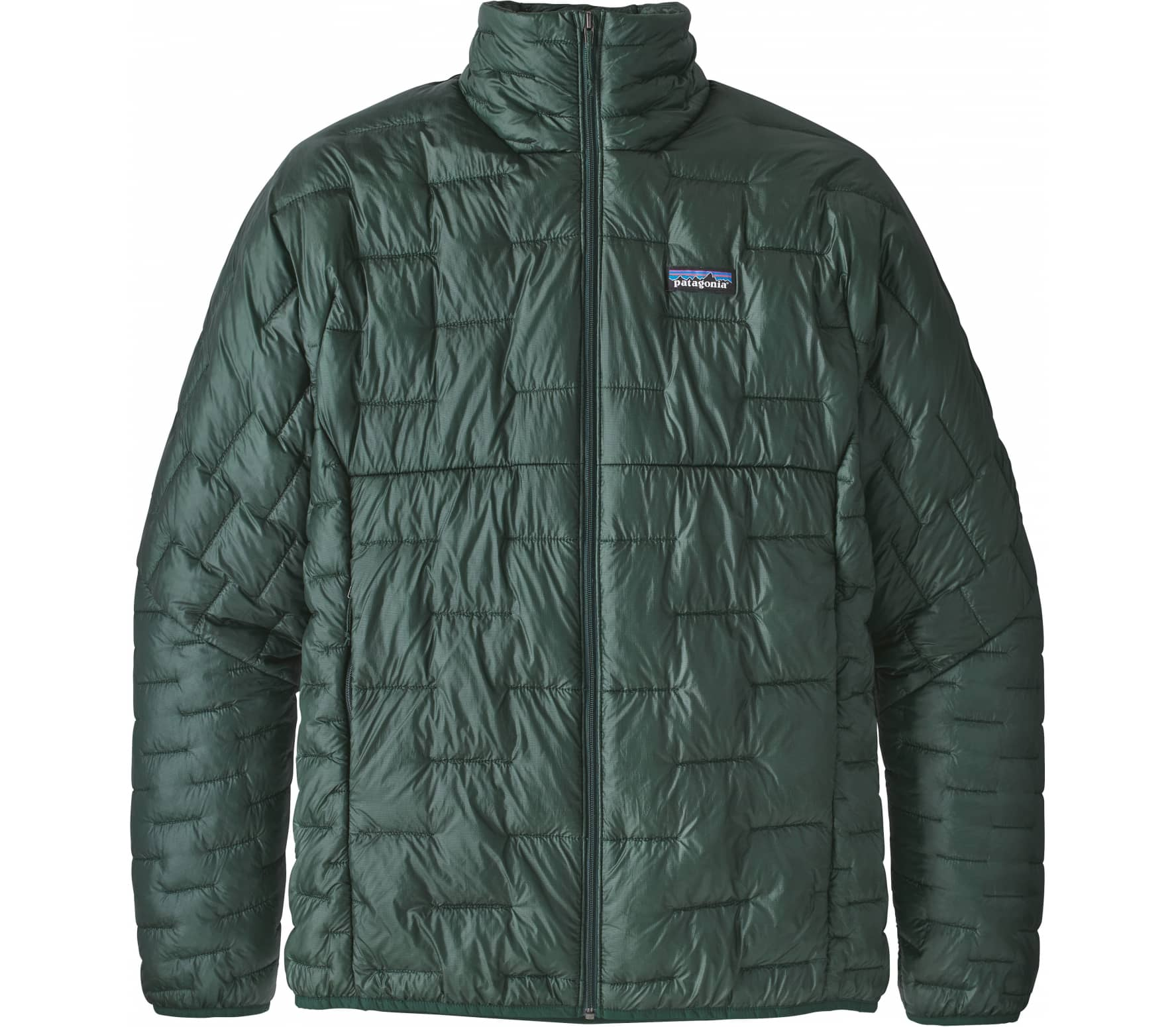 Patagonia - Micro Puff men's hybrid jacket (green)