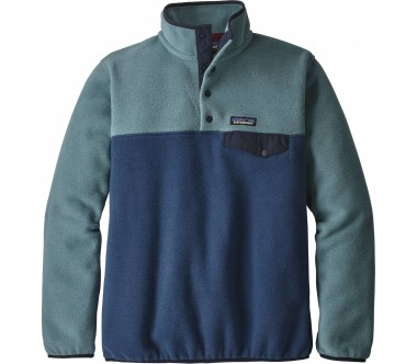 Patagonia - Lightweight Synchilla Snap-T women's fleece pullover (blue)