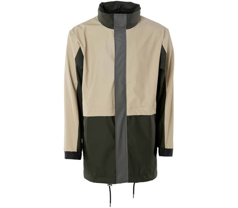 Color Block Rain Jacket