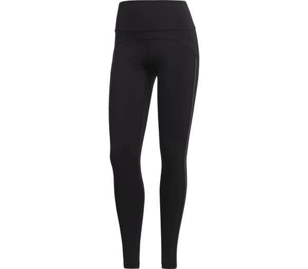 ADIDAS BT HR Mesh Solid Dames Trainingtights - 1