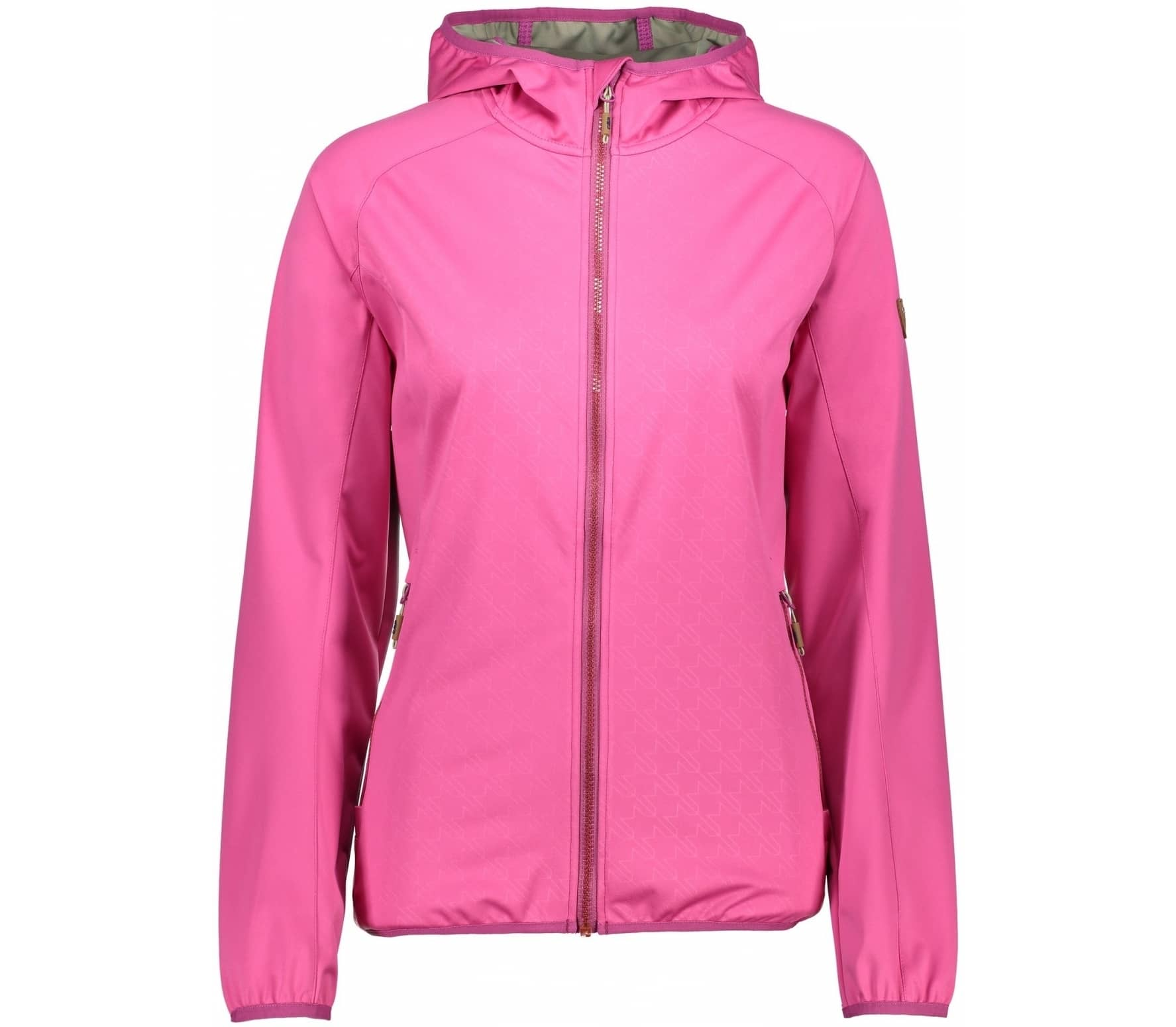 CMP - Fix Hood Light women s soft shell jacket (pink) - buy it at ... 22458d3adc