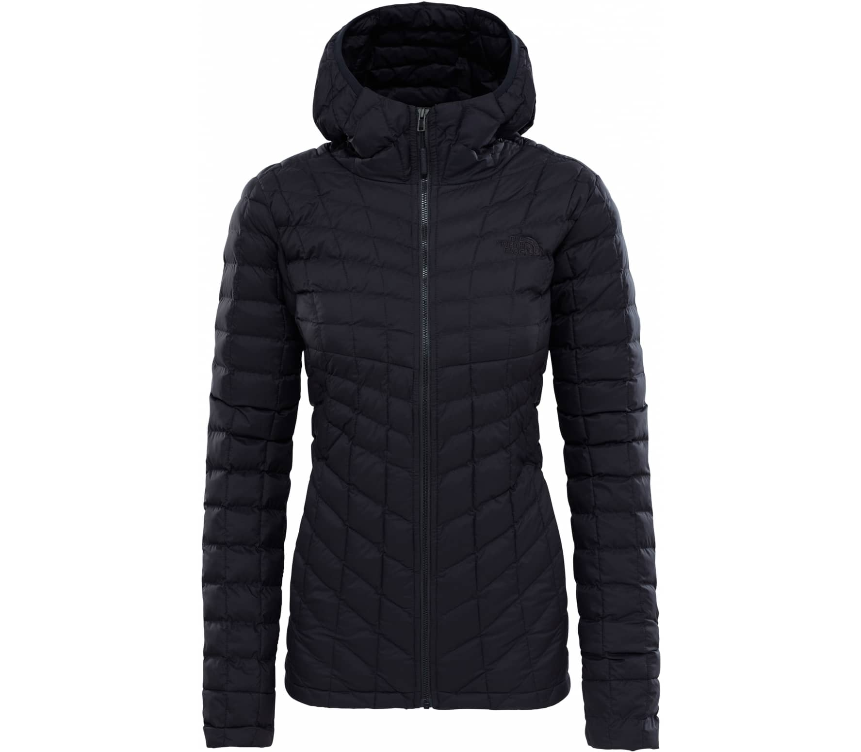 The North Face - ThermoBall® hoodie women's synthetic fibre jacket (black)