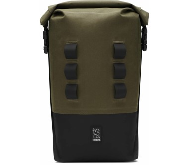 Chrome - Urban Ex Rolltop 18 L daypack (green/black)