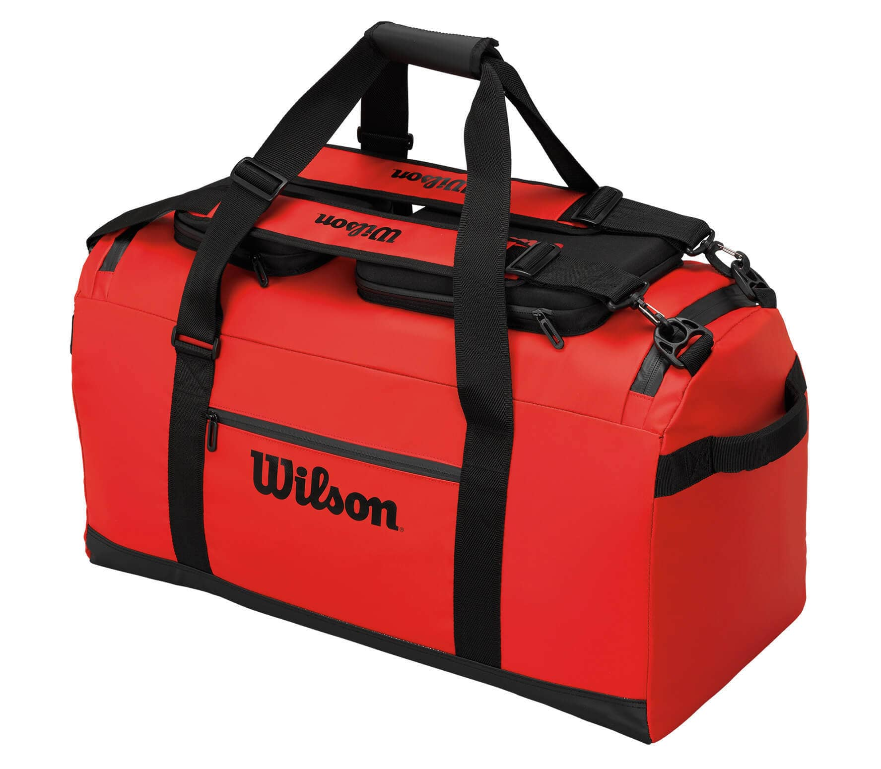 40c68a65b40b Wilson - Tech duffel bag tennis bag (red black) - buy it at the ...