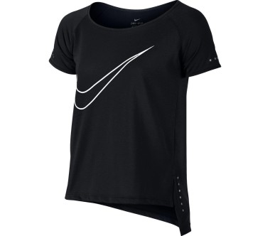 Nike Shortsleeve Junior Lauftop Children black