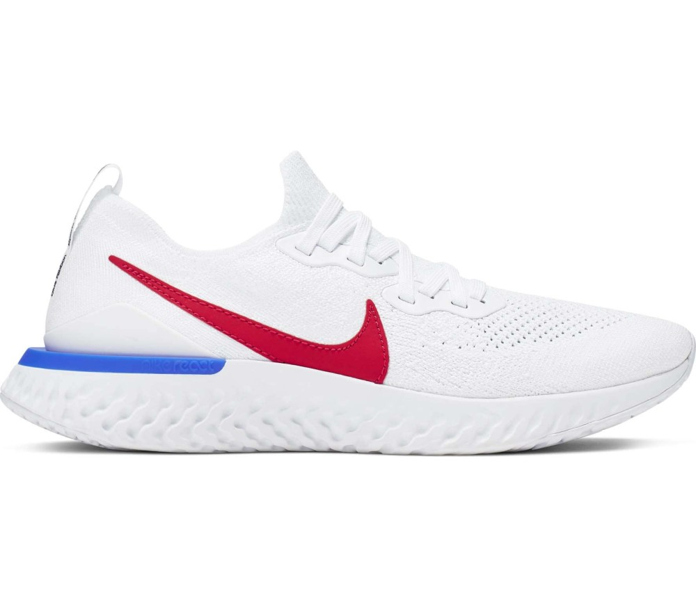 Nike Epic React Flyknit 2 Hommes Chaussures running  blanc