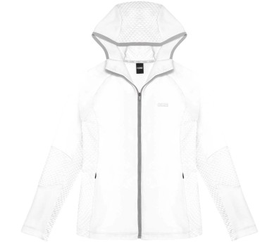 Colmar - Spacerace Capsule Hooded Damen Powerstretchjacke (weiß)